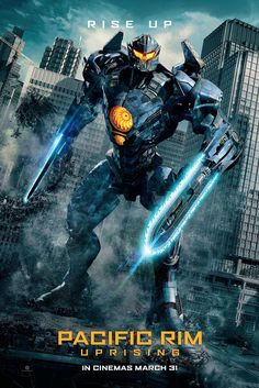 United International Pictures and Columbia Pictures PH has recently released the four new Pacific Rim Uprising banners lead by the main jaeger, Gipsy Avenger. Opens March 31