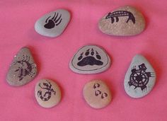 SPirit Stones from Earth Gypsy - rune stone sets, medicine bags, and other handmade and handpainted Spiritual Tools and Gifts