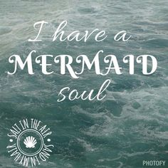 ♡ Either that or a vampire soul 🧜 Unicorns And Mermaids, Real Mermaids, Mermaids And Mermen, Mermaid Fairy, Mermaid Tale, Humor Fotografia, Mermaid Quotes, Mermaid Kisses, Beach Quotes
