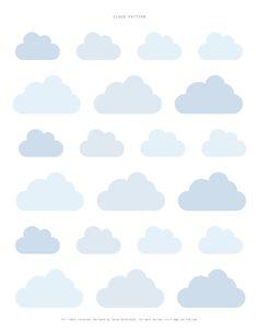 A cloud pattern by Sweet Paul