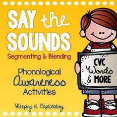 Phonemic Awareness Sound Boxes: CVC | Reading | Pinterest