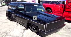 """Insane 1986 Chevy K5 Blazer Custom """"TA Cabron"""" at SEMA 2014. Check out the video"""
