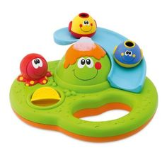 Chicco Bubble Island by Chicco. $15.99. From the Manufacturer                Bath tub activity center to entertain babies at bath-time. Lots of great manual activities: a slide for the 2 little fish to slide down and a water mill which creates water effects. Babies can press the octopus to activate magic soap bubbles that erupt from the volcano.                                    Product Description                Bath tub activity center to entertain babies at ba...