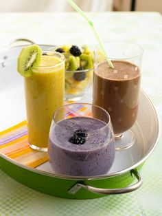 Fresh fruit, a good blender, and a little know-how are all you need.