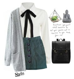 """""""#SheIn"""" by credentovideos ❤ liked on Polyvore featuring Urban Outfitters, Universal Lighting and Decor, women's clothing, women, female, woman, misses and juniors"""