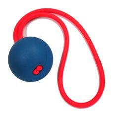 Go-Frrr Ball(犬のおもちゃ)  飛ばし用ゴムとボールが一体になったユニークなおもちゃです。ゴムの力で簡単にボールが遠くまで飛ばすことができます。(うまく飛ばすと60mも飛ぶ場合があります。)水にも浮きます。運動量の多い愛犬におすすめです。
