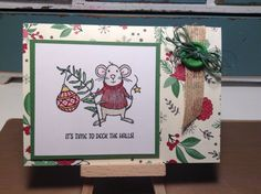 Stampin Up Merry Mice stamp set.