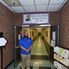 Jones named Principal of the Year for county