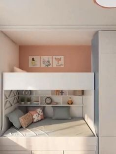 Bedroom Storage For Small Rooms, Bedroom Decor For Small Rooms, Room Ideas Bedroom, Furniture For Small Spaces, Tiny Bedrooms, Studio Type Condo Ideas Small Spaces, Rooms For Kids, Small Bedroom Ideas For Girls, Bedroom For Kids