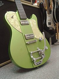 "KING GUITARS ""MARQUETTE #Metalic Green"""