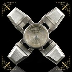 Spinetic Spinners X – Stainless Steel | Spinetic Fidget Spinners