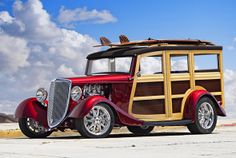 1934 Ford Woodie!