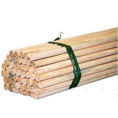 Bastão de madeira 75 cm de comprimento fardo com 50 unidades