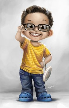Kid Cartoon Character