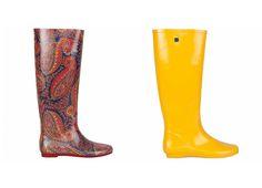 nueva colección 2014 de botas de agua de Purificación García