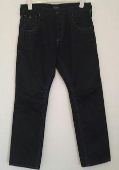 Jack And Jones Mens Jeans Boxy Loose Fit Dark Wash Indigo Blue Size W 32 L 32