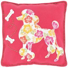 Time For Poodles And Friends: We Found Some Poodle Pillows!