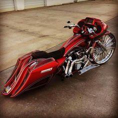 #HarleyDavidson #Bagger