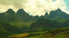 Cathedral Peak - Drakensberg South Africa