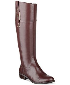 Tommy Hilfiger Women's Gibsy Tall Riding Boots - Boots - Shoes - Macy's