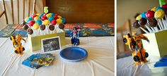 Transformers party ideas...