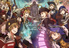 Allies or Nordic Pirates!