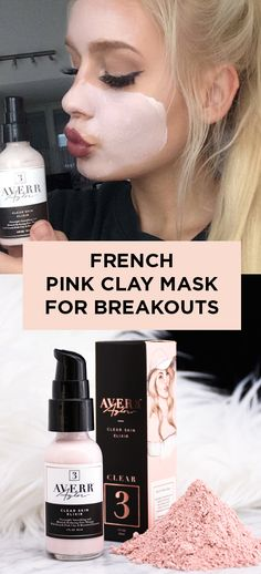 Pink Clay Mask  This overnight face mask knocks breakouts out before they start.