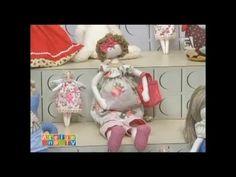 Boneca Gravida Vivi Prado - Ateliê na TV (05/01/2015) - YouTube