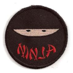 Ninja Patch by StoriedThreads on Etsy