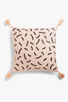 Monki Cushion cover in Orange Light