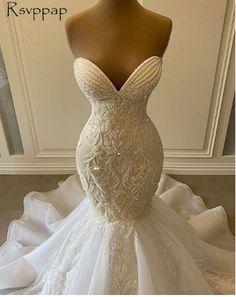 Fancy Wedding Dresses, African Wedding Dress, Lace Wedding Dress With Sleeves, Applique Wedding Dress, Formal Dresses For Weddings, Wedding Bridesmaid Dresses, Lace Weddings, Bridal Dresses, Wedding Gowns