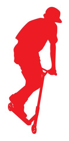 The sickest scooter decal now available...Pro Scooter Shop Red Rider decals! These are rub on, removable (but not resusable) decals. Put them on cell phones,
