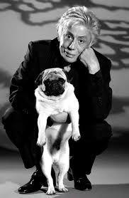 Resultado de imagem para Clodovil Hernandes e seu Pug.