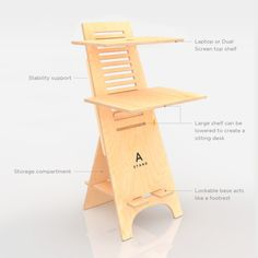 A-Stand-Standing Desk SitStand Compact Desk2