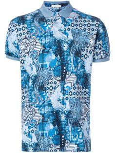 Compre Etro Camisa polo estampada.