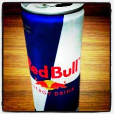 RedBull, I am sad to say.. Hello my name is Lisa and I am addicited to Red Bull ;)