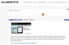 ALLWEBTUTS: Thanks for the mention in your curation of web tools!
