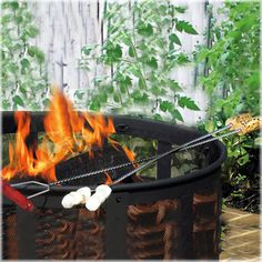 CobraCo® S'More Fork Set, Model BSMF100  This would be used so much with the fire pit.  The children and adults would love roasting different foods over an open flame.  Fun fun fun!
