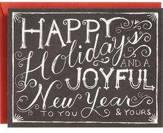 Poppytalk: 2012 Holiday Card Round-Up Part 2