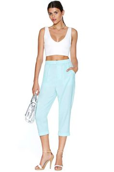 Mint To Be Trousers