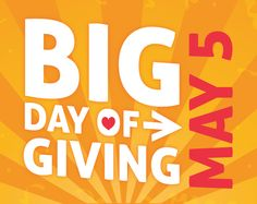 SAVE THE DATE: WarmLine is one of 529 nonprofits from the 4-county region participating in the Big Day of Giving on May 5 at https://bigdayofgiving.org/… - are YOU ready to put your money where your heart is? ‪#‎BIGDoG2015‬