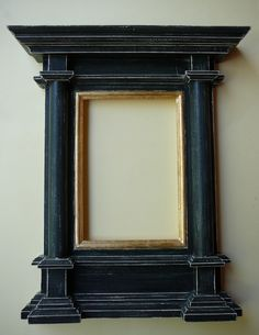 Handmade tabernacle frame by NeoAntique on Etsy Handmade Picture Frames, Antique Picture Frames, Antique Frames, Decorative Mouldings, Byzantine Art, Cardboard Furniture, Abstract Shapes, Triptych, Framed Art