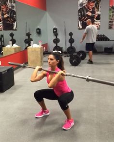 """5,905 Likes, 151 Comments - Alexia Clark (@alexia_clark) on Instagram: """"Barbell Bum Circuit 🍑🍑🍑 Exercise 1: 30 seconds each side  Exercise 2: 16 reps alternating which leg…"""""""