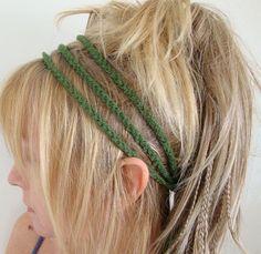 cute crocheted head band