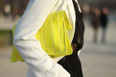 yellow me clutch.