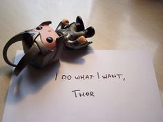 so this made me giggle....and want a Loki bobblehead.