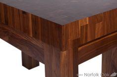 A truly elegant, divine piece of furniture made at www.norfolkoak.com