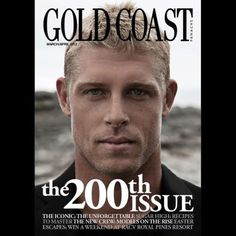 Mick Fanning makes the march/april 2012 cover of Gold Coast