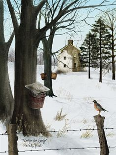 Waiting For Spring by artist Billy Jacobs
