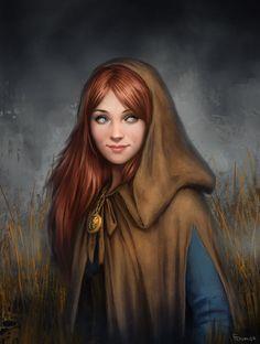 Iris in her cloak Original: Isabelle by *fdasuarez on deviantART